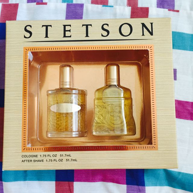 Brand New Stetson Cologne And After Shave !!!
