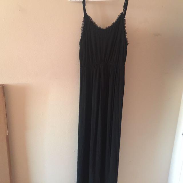 Brandy Melville Black Maxi Dress