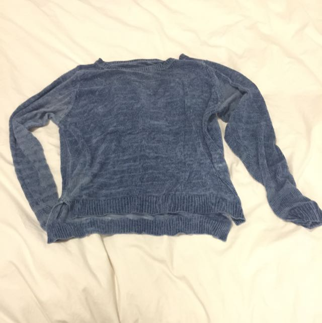 Brandy Melville Velour Sweater