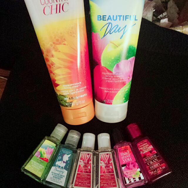 *Reserved* Bundle Bath & Body Works Antibacterial gel and Body Cream