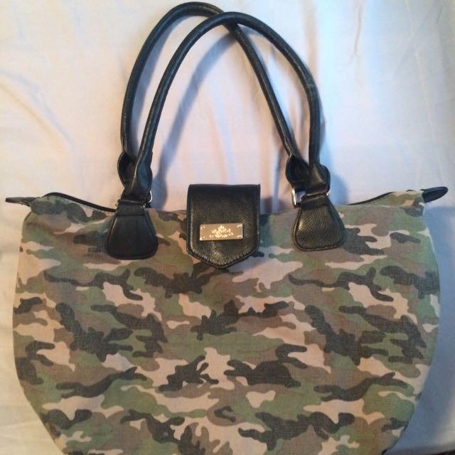 Camouflage Handbag