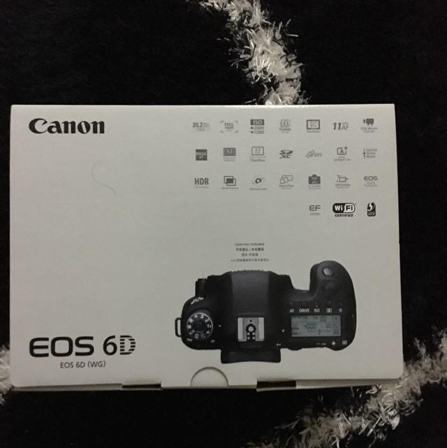 Canon 6d Box