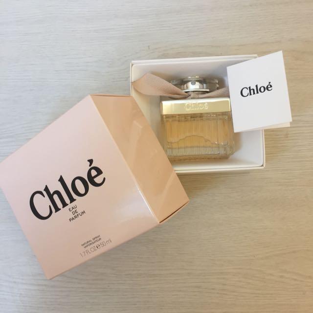 全新Chloe' 經典同名淡香精50ml