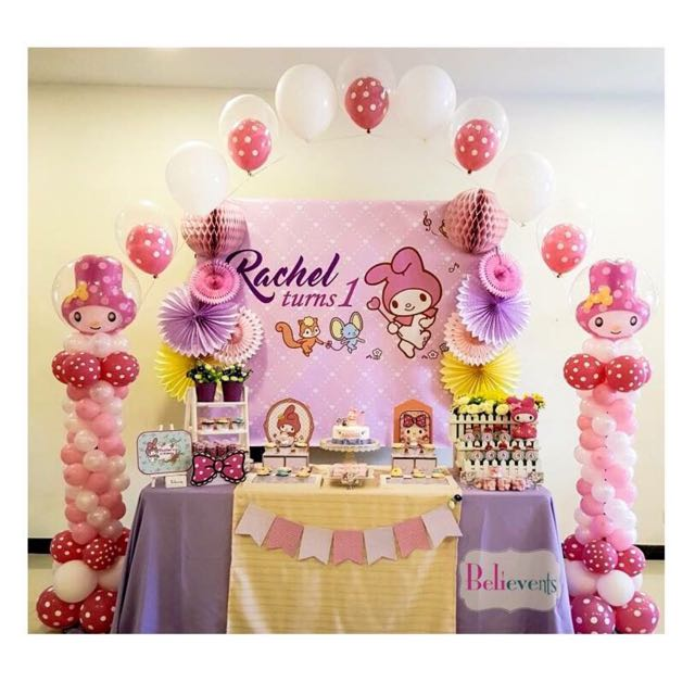 Creative Dessert Table and Party Backdrop