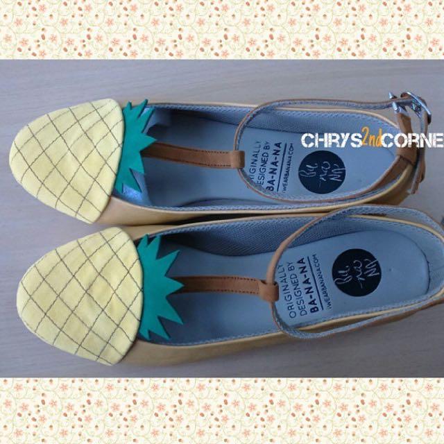 Flatshoes pineapple Merk Iwearbanana