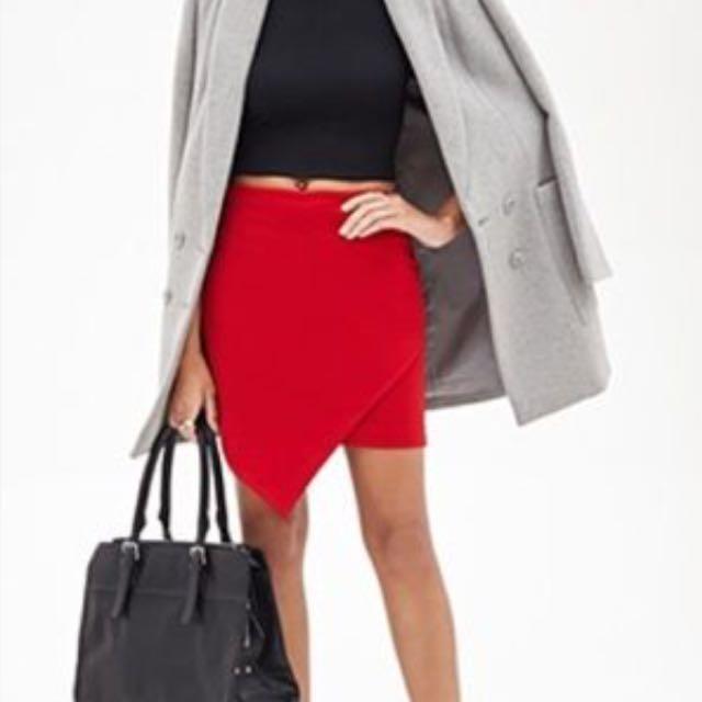 F21 Asymmetrical Skirt