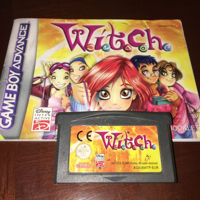 Game Boy Advance Game 'Witch'