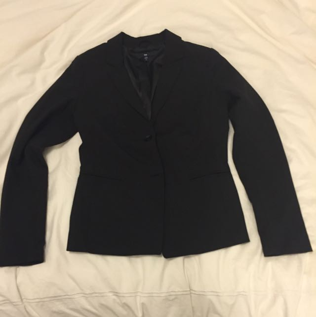 Gap Black Structured Blazer