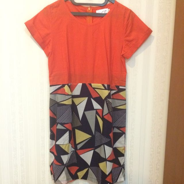 Gaudi Geometric Dress
