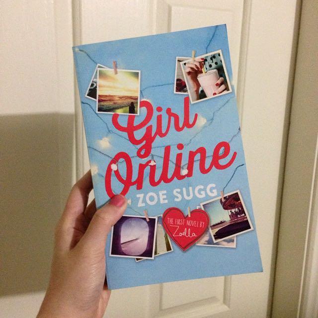 Girl Online Paperback Book