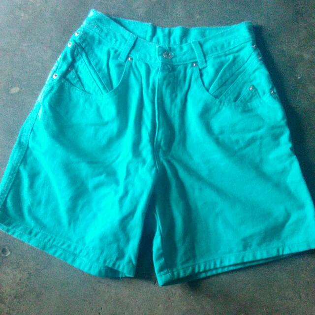 Green Short Maong