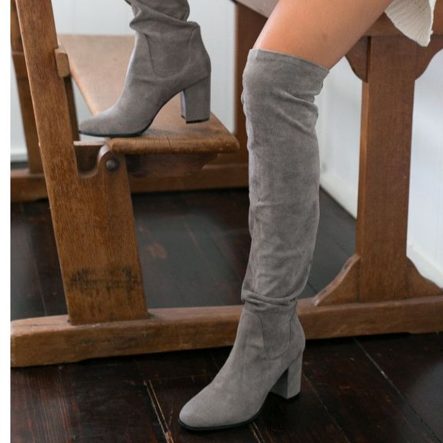GREY Therapy hanover boots size 40 (BRAND NEW IN BOX) LIKE KOOKAI
