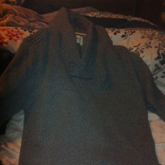 Grey Woollen Jumper