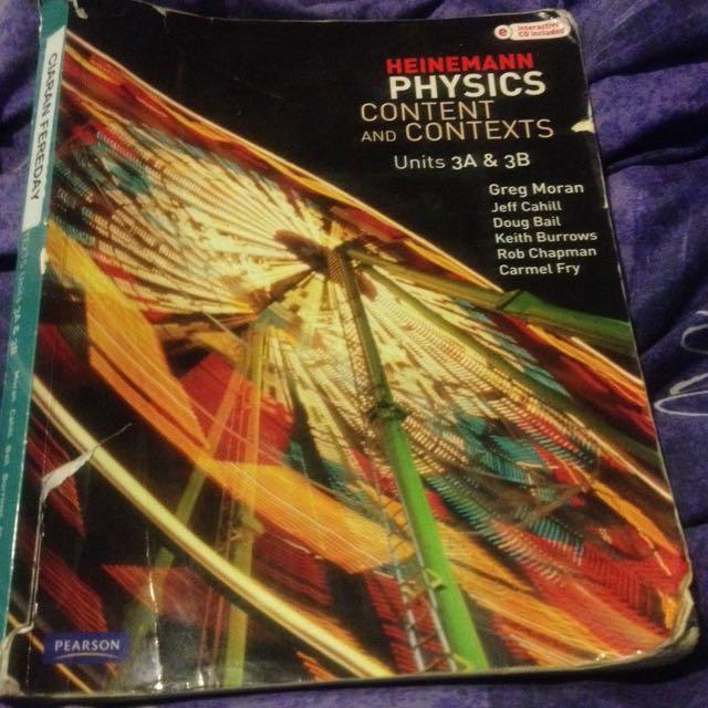 Heinemann Physics Content 3a3b
