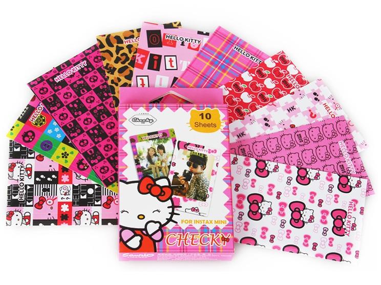 Hello Kitty 拍立得邊框貼紙