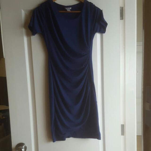 #H&M Blue Sexy Smart Dress Size S
