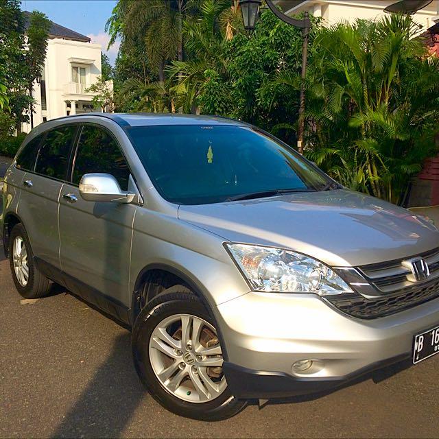 Honda C-RV 2011 AT 2.4 (silver)
