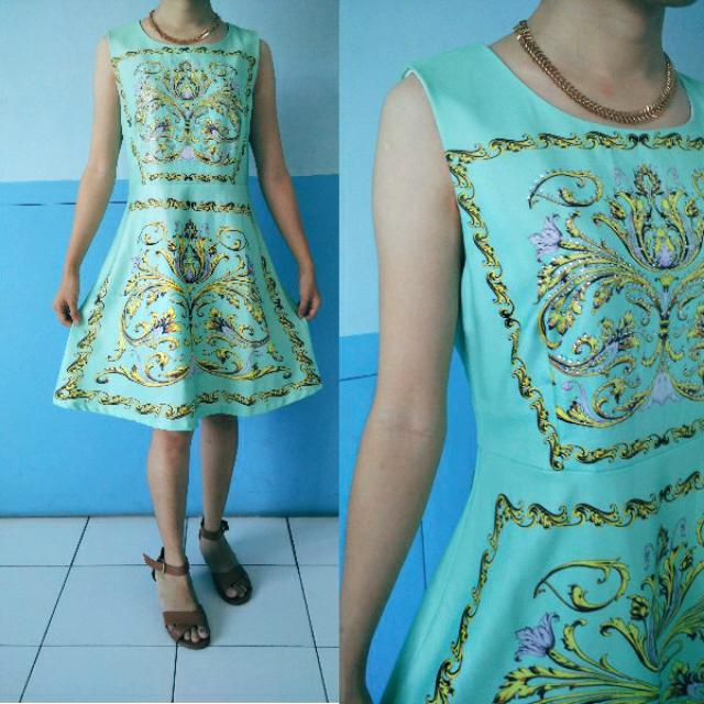 Imperial Mint Baroque Dress