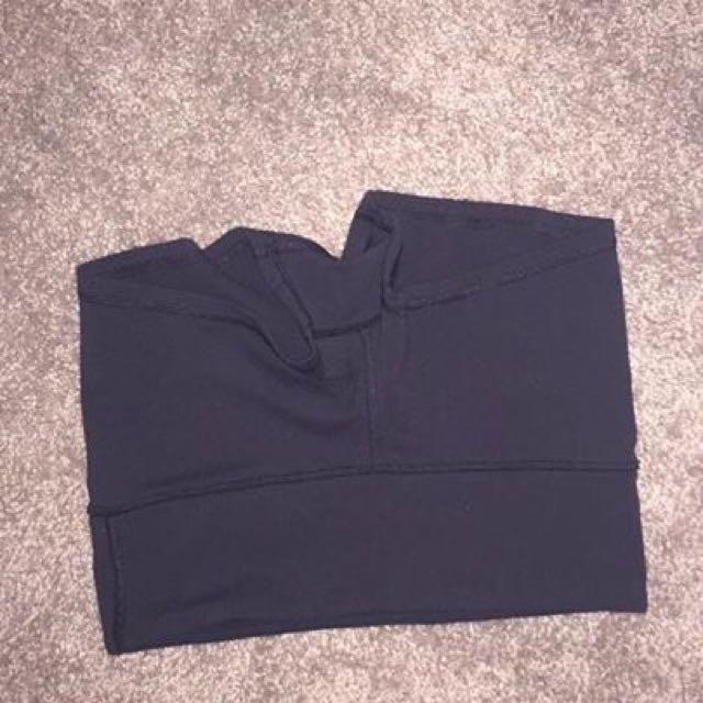 """Lululemon Black """"Wunder"""" Shorts"""