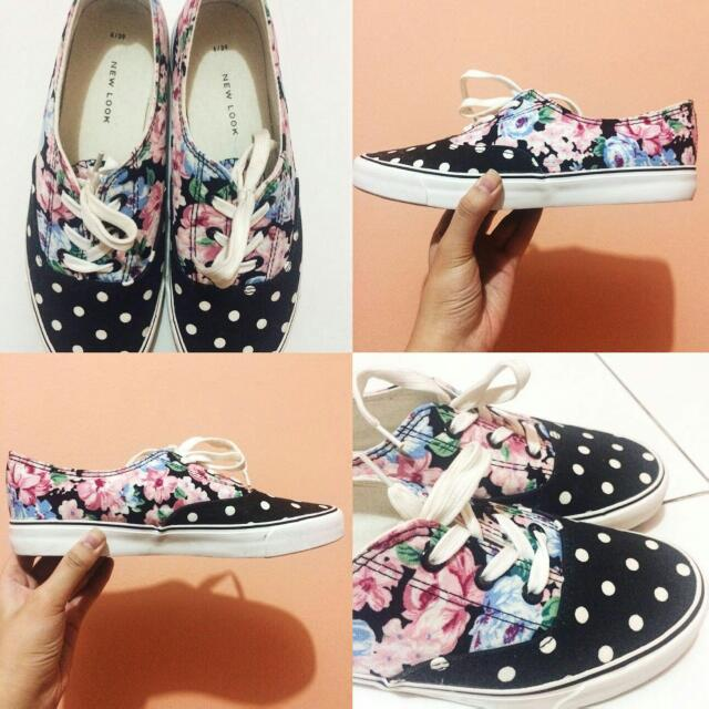 New Look Floral Shoes