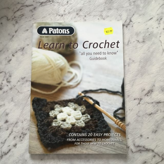 Patons Learn To Crochet Guidebook