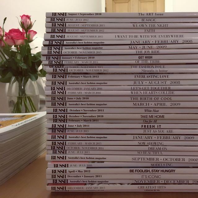 RUSSH Magazine Collection - 2007-2016