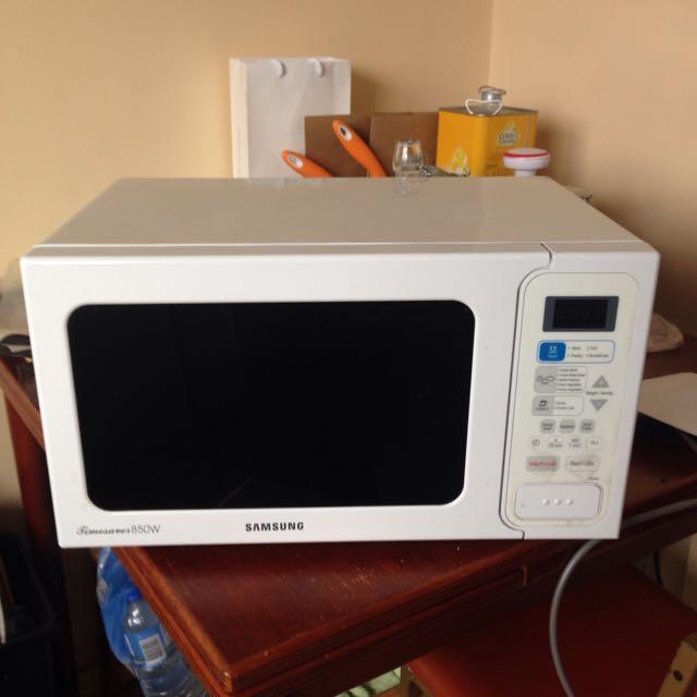 Samsung 850w Microwave
