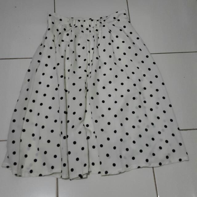 Skirt Polkadot / Rok Karet