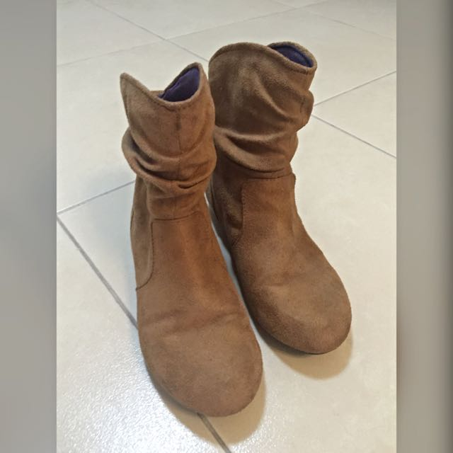So FAB! Suede Boots