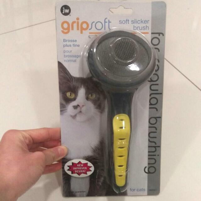 Soft Slicker Brush For Cats