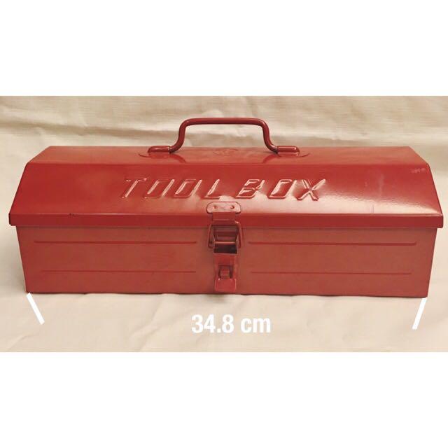 古著復古工具鐵盒箱🔧Tool Box