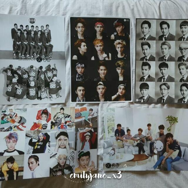 Unofficial EXO Poster Set