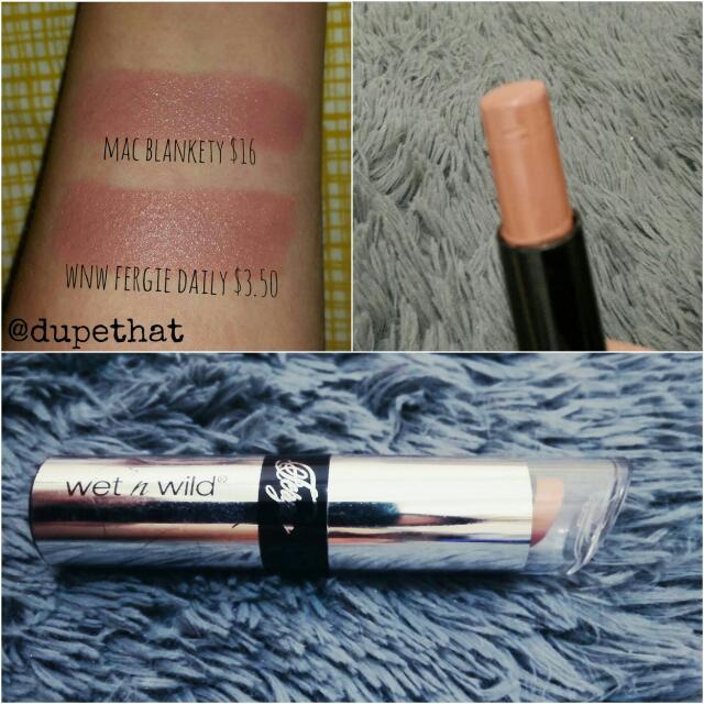 Wet N Wild Fergie Lipstick