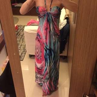 異國風長洋裝