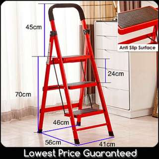 Soldout! Ladder 3 Steps/ 4 Steps/ 5 Steps -  Red/White/Green/pink/yellow