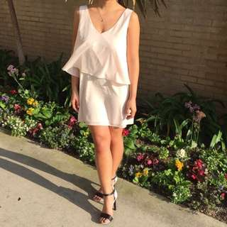 Forever 21 Blush Flowy Dress