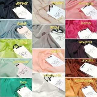 Hijabsquarepolos - pasminah / scarf / hijab /syal / scarf