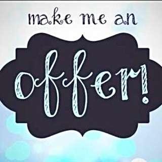 🌟MAKE AN OFFER!!🌟