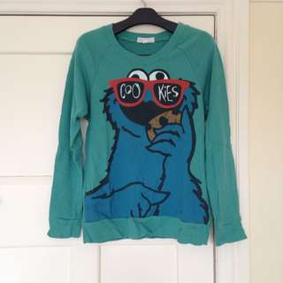 Cookie Monster Thin Jumper