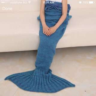 Brand New Handmade Mermaid Blanket