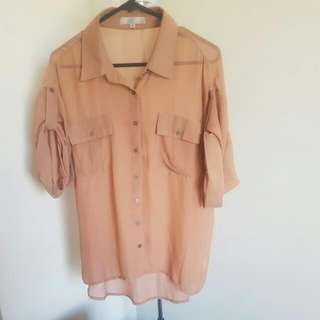 Light Brown Blouse