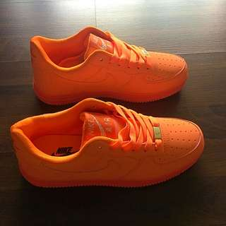 Nike Air Orange Colour Authentic