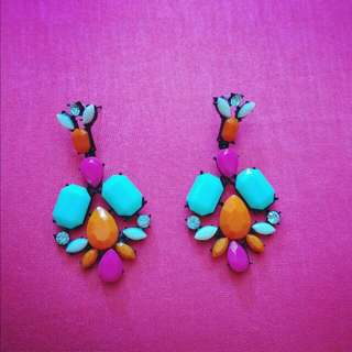 Multi-coloured Earrings
