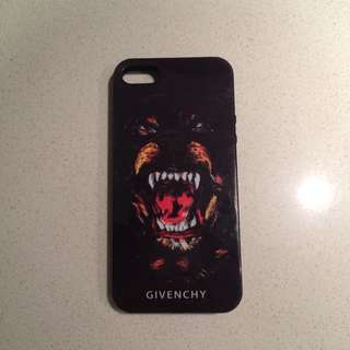 Givenchy Replica Black Dog Iphone 5/5s Case