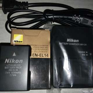 Nikon Battery And Charger