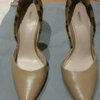 Mimco Heels Fully Leather