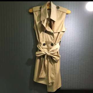 BURBERRY軍裝風格洋裝/長上衣