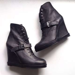 Rare Surface To Air Wedge Booties!