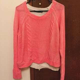 Sportsgirl Pink Sweater