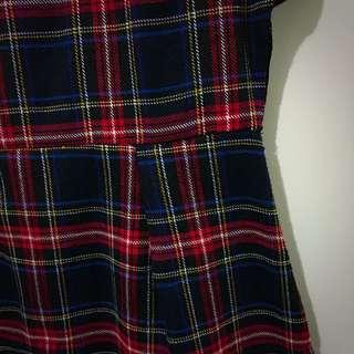 Tartan Mini Dress